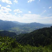 Blick vom Zederbauerspitz