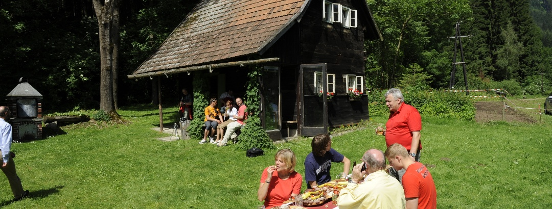 Teichhütte am Pilgerpfad