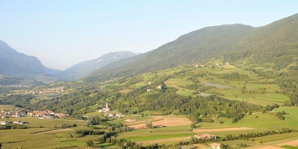 La valle delle Terme di Comano