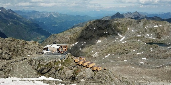 Seit Juli 2018 verfügt die Stettiner Hütte über zusätzliche Schlafplätze.