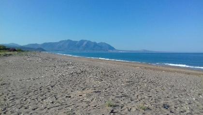 Der Strand von Elaia