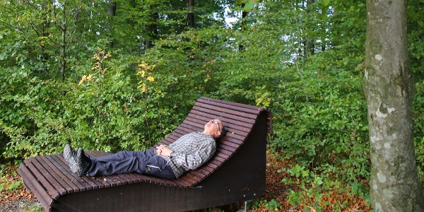 Entspannen und bewusst atmen.
