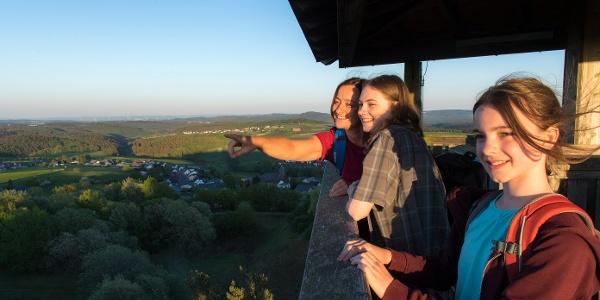 Auf dem Eifelturm