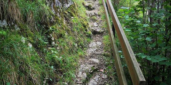 Anstieg zum Kalvarienberg