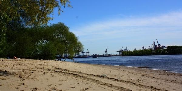 Strand von Övelgönne