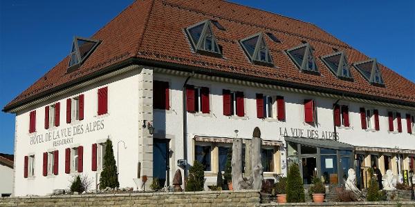 Hotel La Vue des Alpes.
