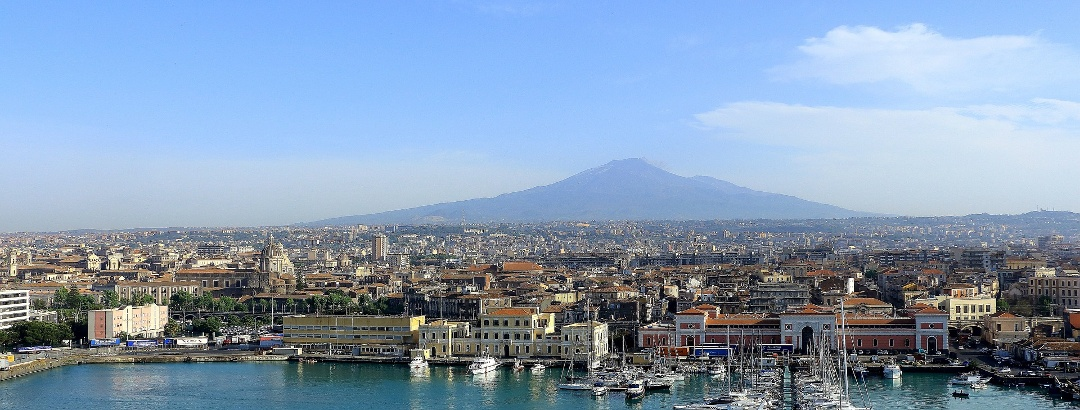 Catania mit dem Ätna