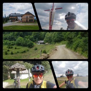 Stationen der Tour: Mugel - Utschmoaralm - Eisenpass - Hochanger