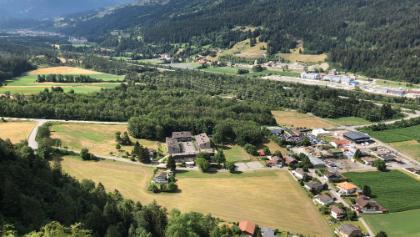 Aussicht von der Burg Oberjuvalt