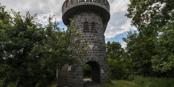 A Julianus-kilátó a Hegyes-tetőn