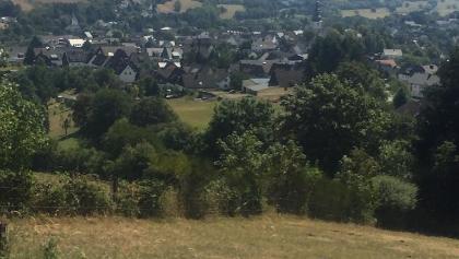 Blick auf Hallenberg