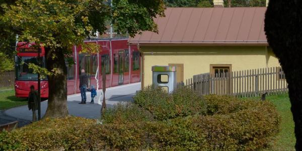 Oberer Ausgangspunkt Bahnhof Igls