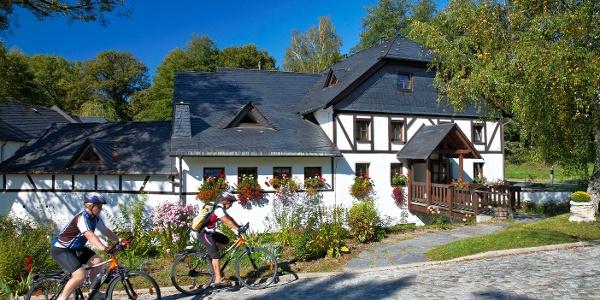 Mit dem Rad ums Dorf
