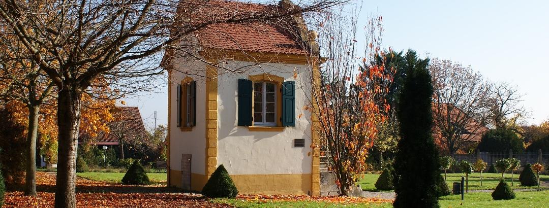 Der Barockgarten in Freinsheim