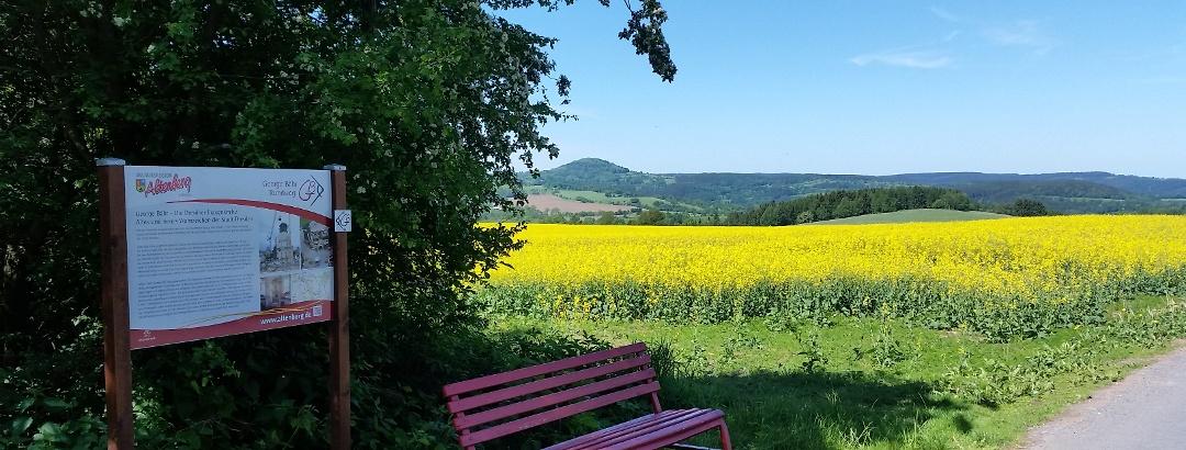 Talsperrenweg zwischen Lauenstein und Liebenau