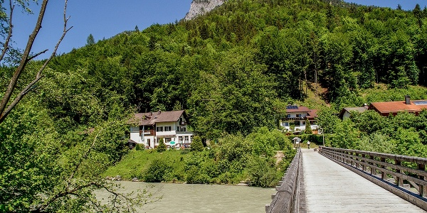 Brücke über die Saalach bei Fronau
