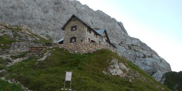 Il rifugio P.F. Calvi