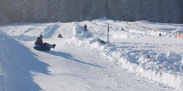 Snow-Tubing in Siegmundsburg
