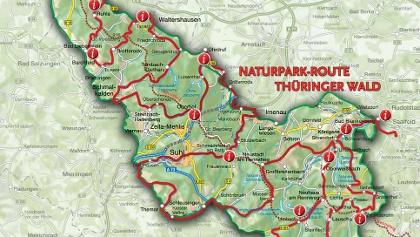 Naturparkroute Thüringer Wald