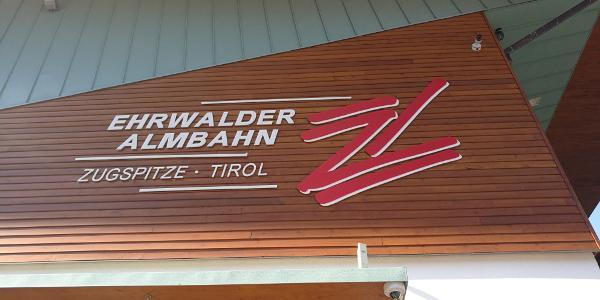 Talstation Ehewalder Almbahn