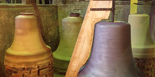Glockenguss in Brockscheid_Vulkaneifel-Pfad: Maare-Pfad