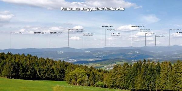 Panorama von Hinterwies