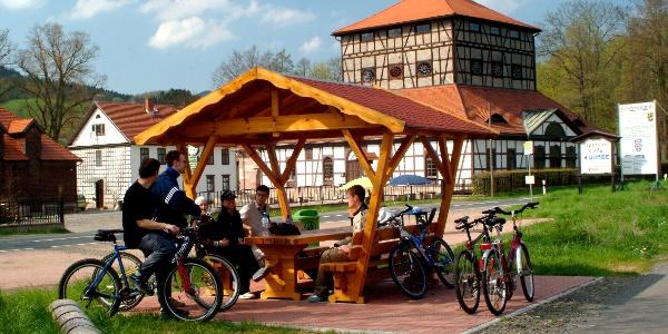 Rastplatz am Technischen Museum Neue Hütte