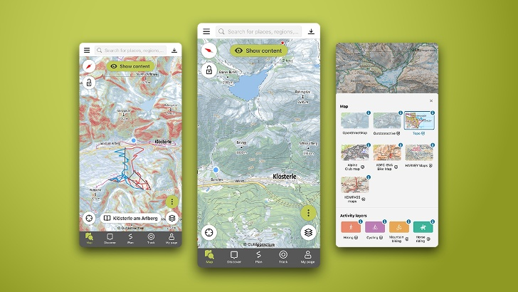 Le migliori mappe sempre con te