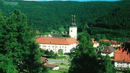 Blick auf den Dom zu Gurk von Norden
