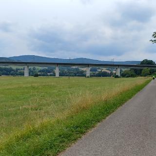 ICE-Strecke bei Schaippach im Sinntal