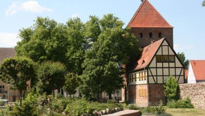 Museum mit Prenzlauer Tor in Pasewalk