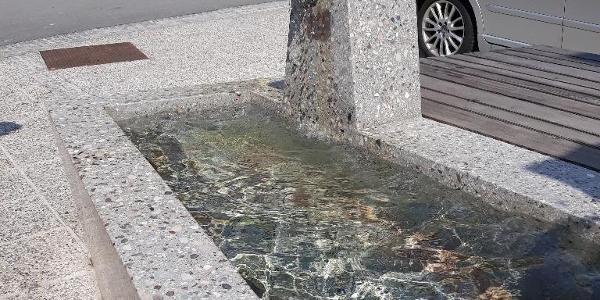 Wasserstelle in Ratece