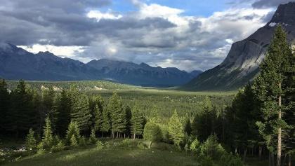 Peaks outside Banff