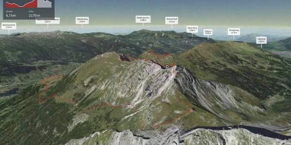 Bergtour im Kleinwalsertal: Hammerspitzen Überschreitung