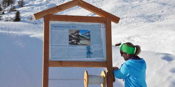 Winter-Erlebnisweg Lauchernalp