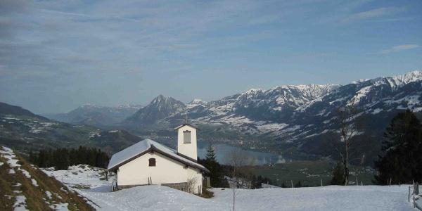 Winterwanderung zur Iwi Kapelle