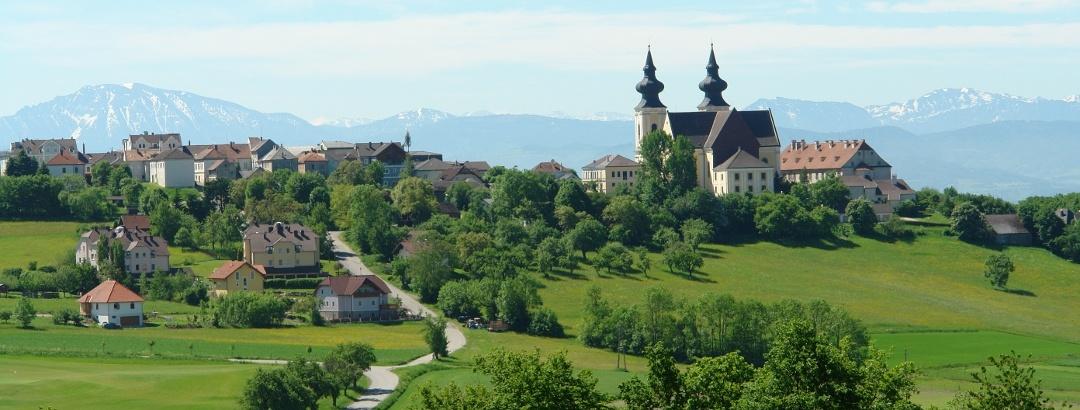 Nibelungengau, Maria Taferl, Basilika von hinten
