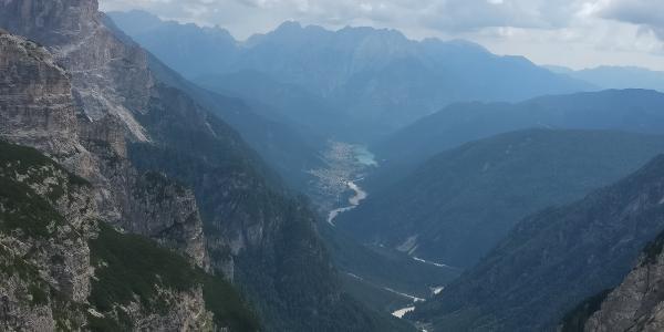 Blick ins Auronzo-Tal