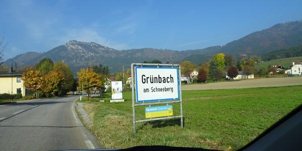 Willkommen in Grünbach