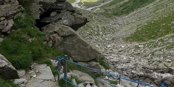 Der Blick ins Wildgerlostal