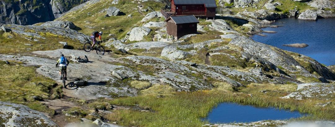 Schutzhütte Munkebu auf den Lofoten