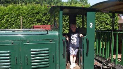 Ein Stück fahren mit der Buchhorster Waldbahn