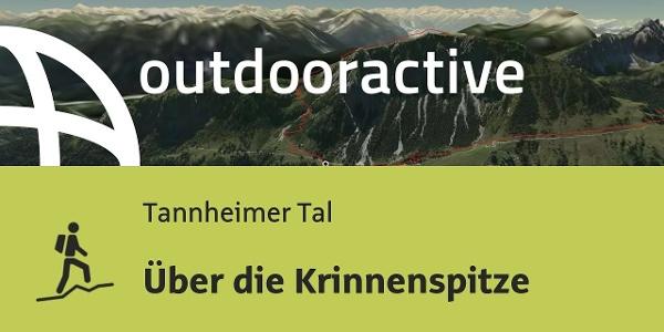 Bergtour im Tannheimer Tal: Über die Krinnenspitze