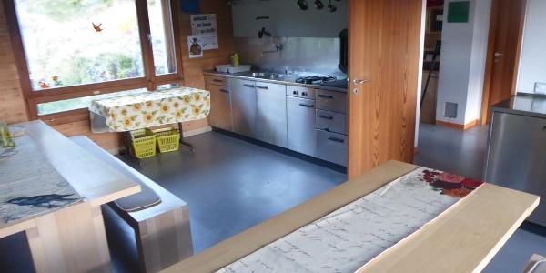 Komfortable Küche für Selbstversorger