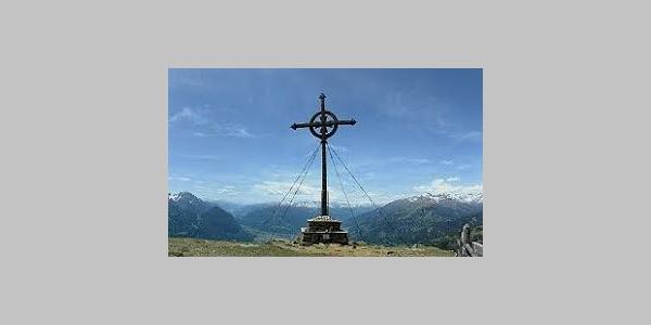 Gipfelkreuz vom Ederplan 2062m
