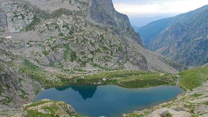 Der Lac Autier und seine Abfluss-Bresche
