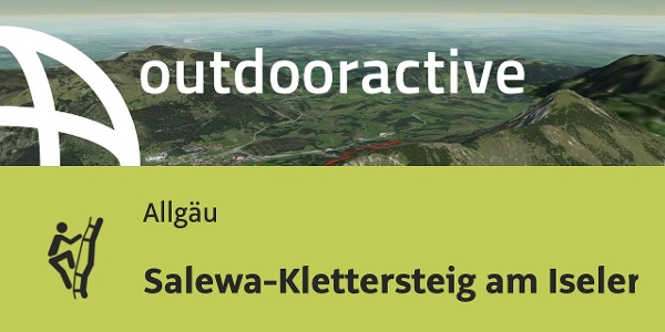 Klettersteig im Allgäu: Salewa-Klettersteig am Iseler