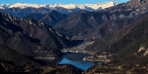 Vista sul Lago di Ledro