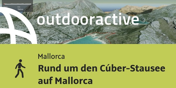 Senderismo en Mallorca: Vuelta al embalse de Cúber en Mallorca