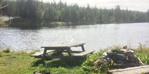 Rastplats vid Sölvbackhån